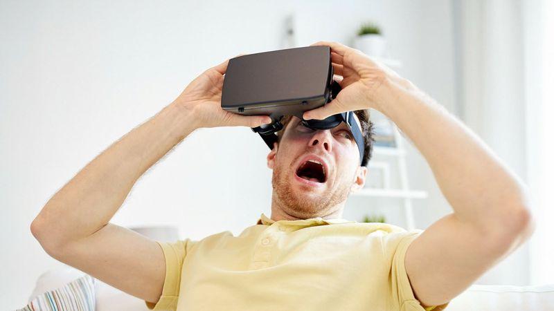 Perjuicios del uso de gafas de realidad virtual.