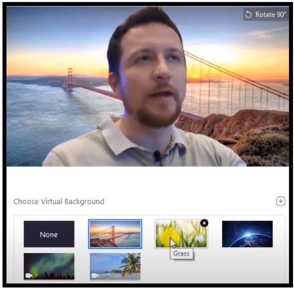 como cambiar fondo en Skype, Zoom y Microsoft Teams